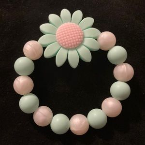 2 for $15 New Mommy & Baby Daisy Silicone Bracelet